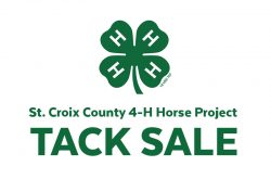 St. Croix County 4-H Horse Project Tack Sale